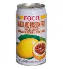 Boisson à la Mangue et au Fruit de la passion FOCO 35cl