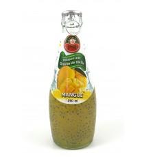 Boisson Mangue aux graines de basilic 29cl