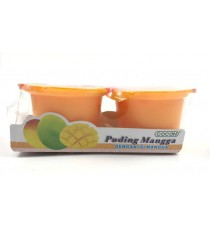Pudding Nata de Coco arôme Mangue COCON 2 x 118g