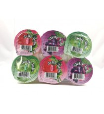 Assortiment de gelées JELLY TUBS 6 X 70G