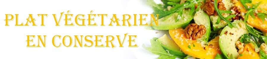 Plats végétarien en conserve